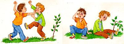 сюжетные картинки мальчик и ласточка